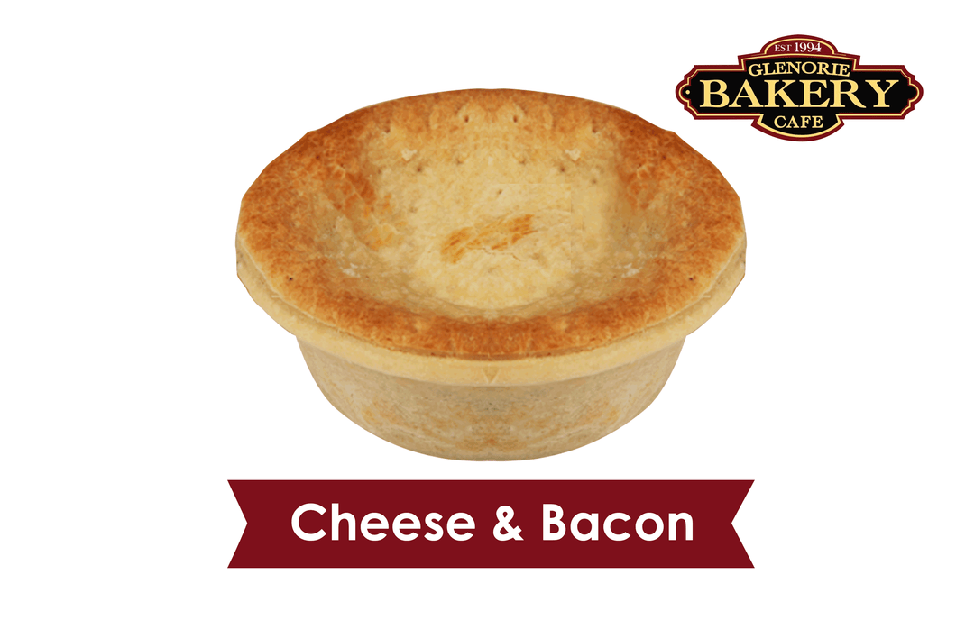 Gourmet Family Pies - Cheese and Bacon 1.4kg (Large size)