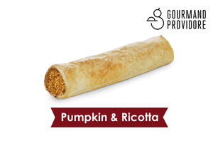 Pumpkin and Ricotta roll (4 pack)