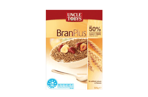 Uncle Tobys Bran Plus Cereal 525g