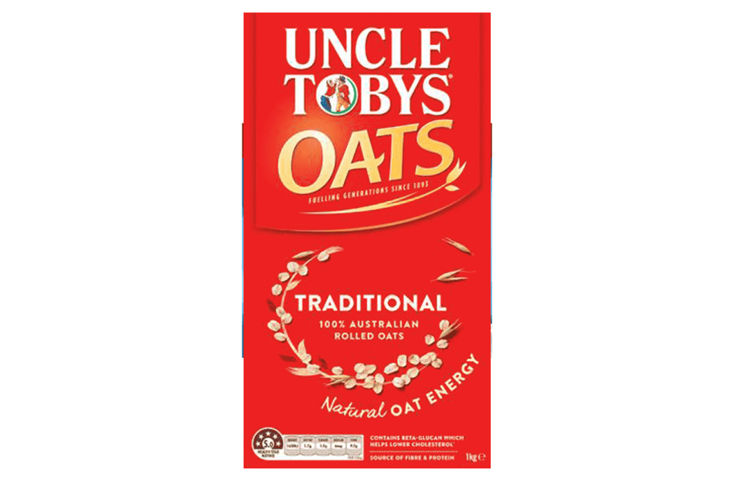 Uncle Tobys Traditional Oats Cereal 1kg