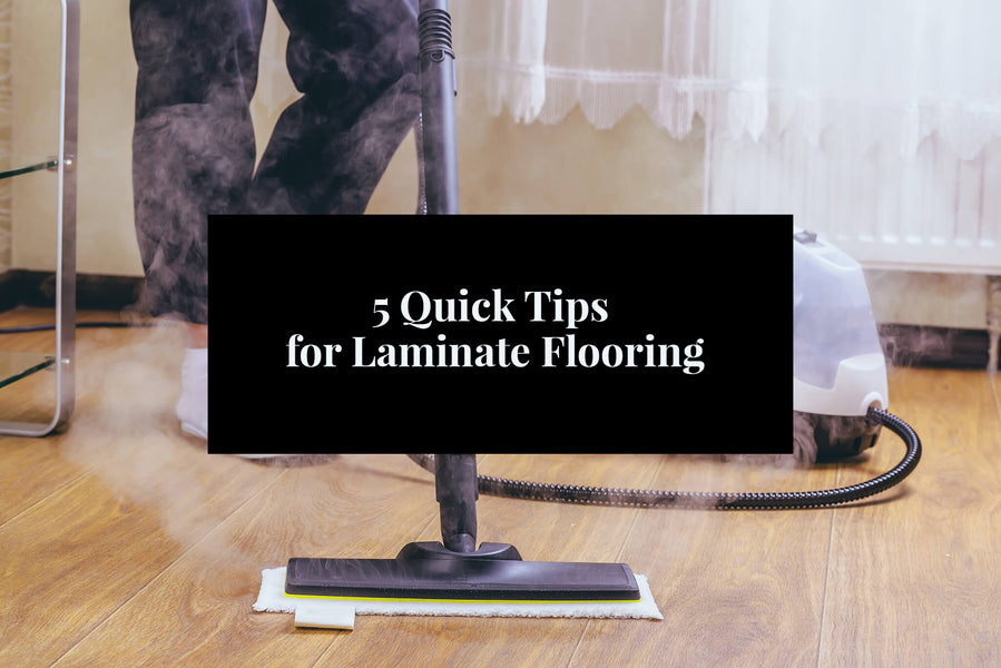 5 Quick Tips for Laminate Flooring