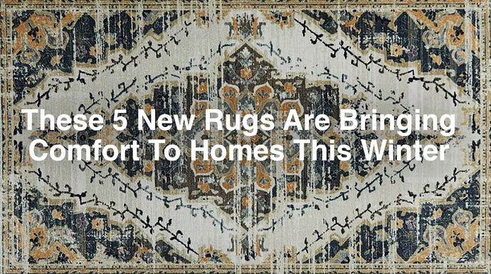 These 5 New Rugs Are Bringing Comfort To Homes This Winter