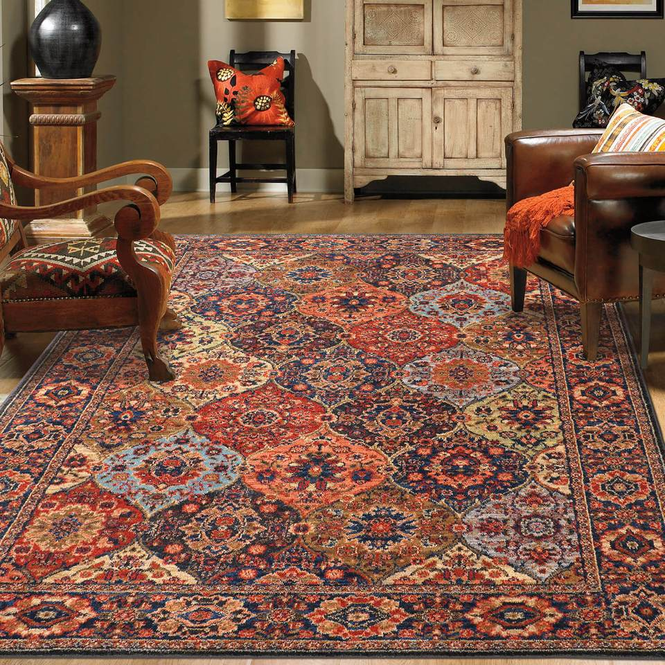 Karastan Spice Market Levant Multi is the rug that is great for people looking for a discount area rug with the quality found in a king's castle. This is a vibrant area rug.