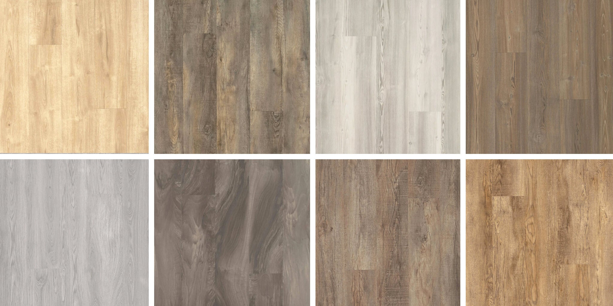 LVT choices of Traditional, Transitional, Coastal, Farmhouse, Mediterranean, Bohemian, Modern, and Contemporary styles.