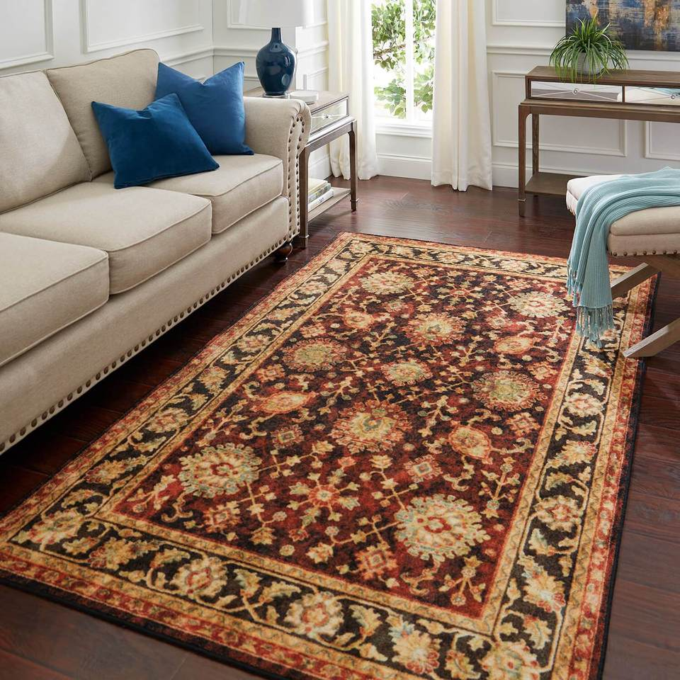 The Technicolor Dalton Orange & Red Area Rug is great if you need a warm area rug. Covered by Surfaces is great if you need area rugs on sale.