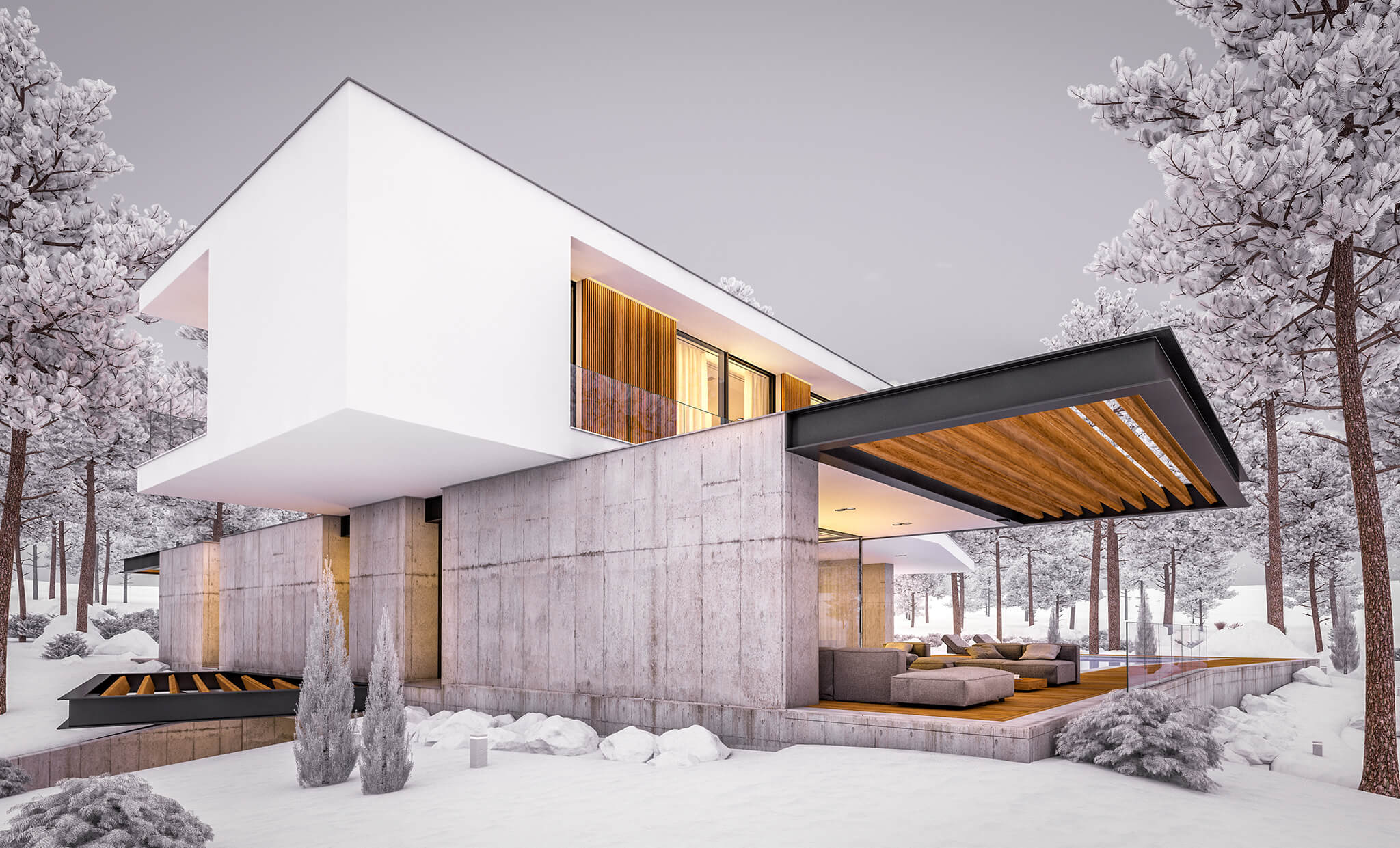 What does a modern home look like?