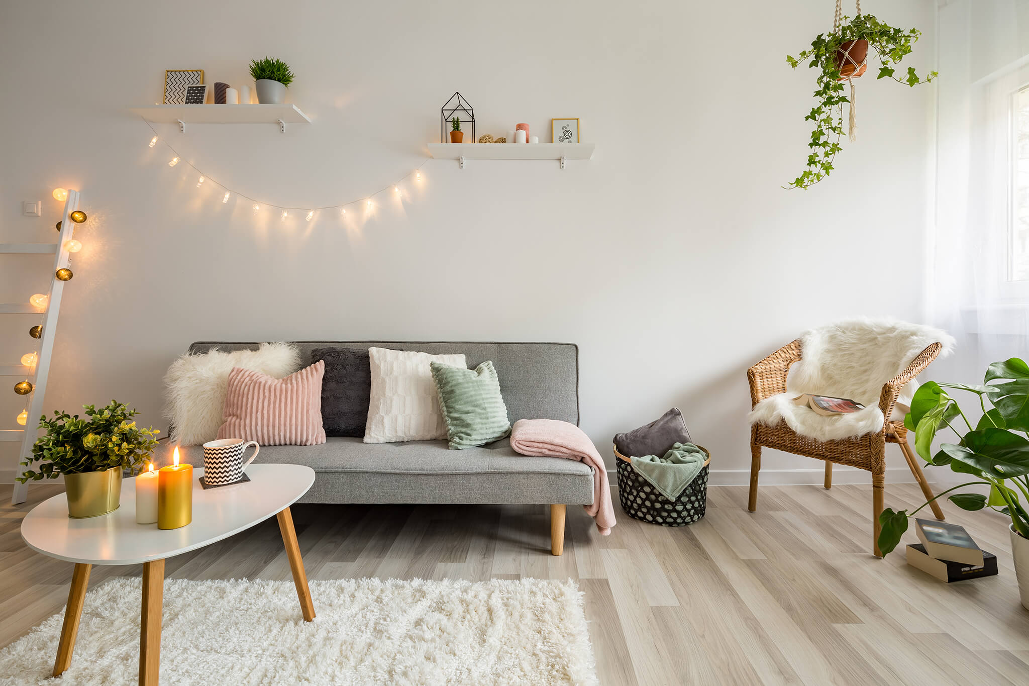 easy to gather living room accessories