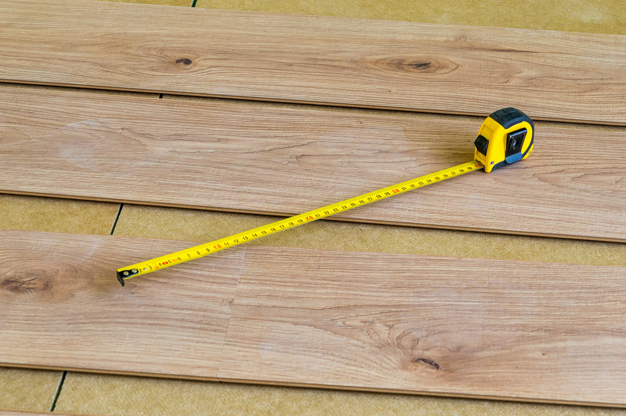 measuring and planning laminate