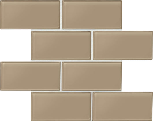 Amity Brown 3X6 Wall Tile