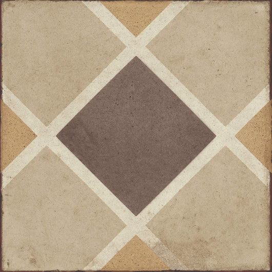 Quartetto Warm Rombo 8X8 Tile