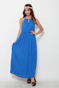 *RESTOCKS* *NASSA* Christie Maxi Dress in Blue