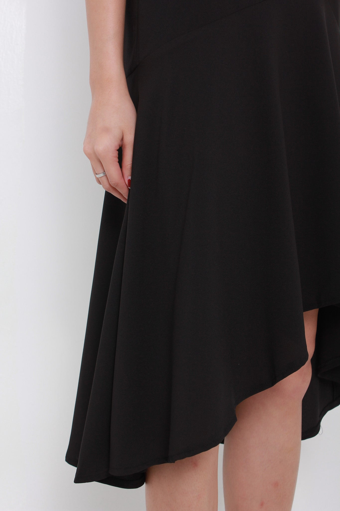 Drew Ays Drop Waist Dress in Black