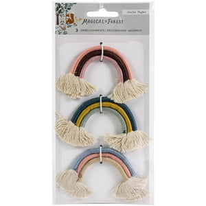 Magical Forest Rainbow Embellishments - Crate Paper