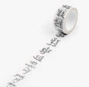 Quotes Memory Washi Tape