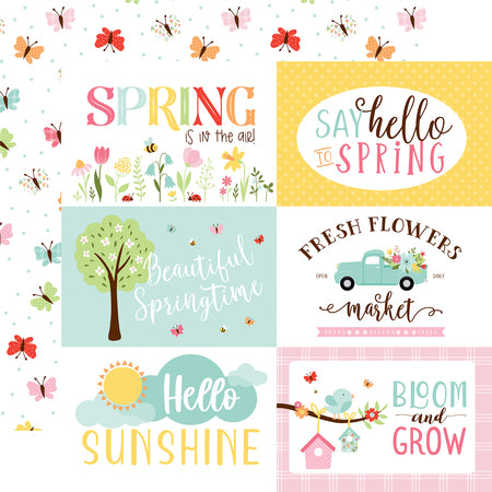 Welcome Spring 6x4 Journaling Cards