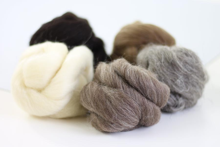 Hawthorn Handmade Wool Bundle - British Breeds #2