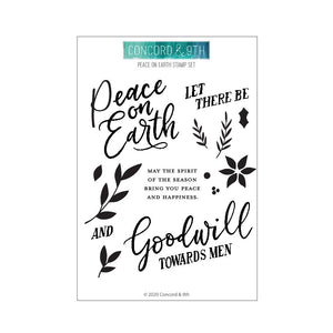 Peace on Earth Stamp Set - Concord & 9th