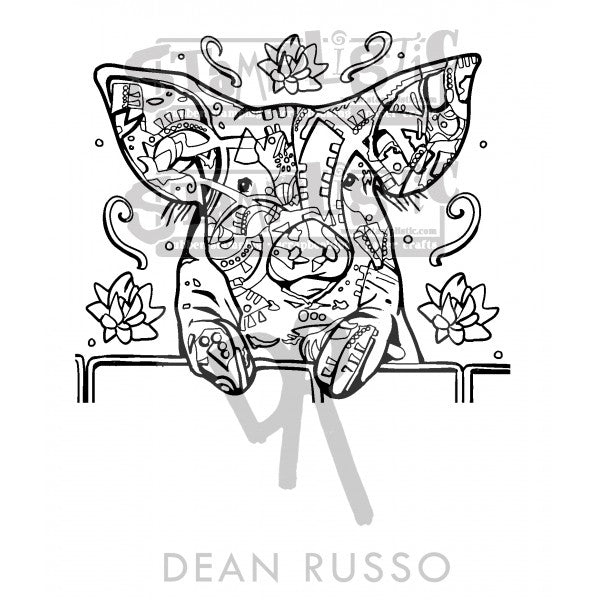 Stamplistic Dean Russo The Pig Stamp