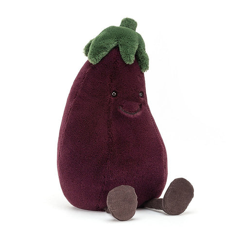 Jellycat Amusable Aubergine available from Indie Edinburgh