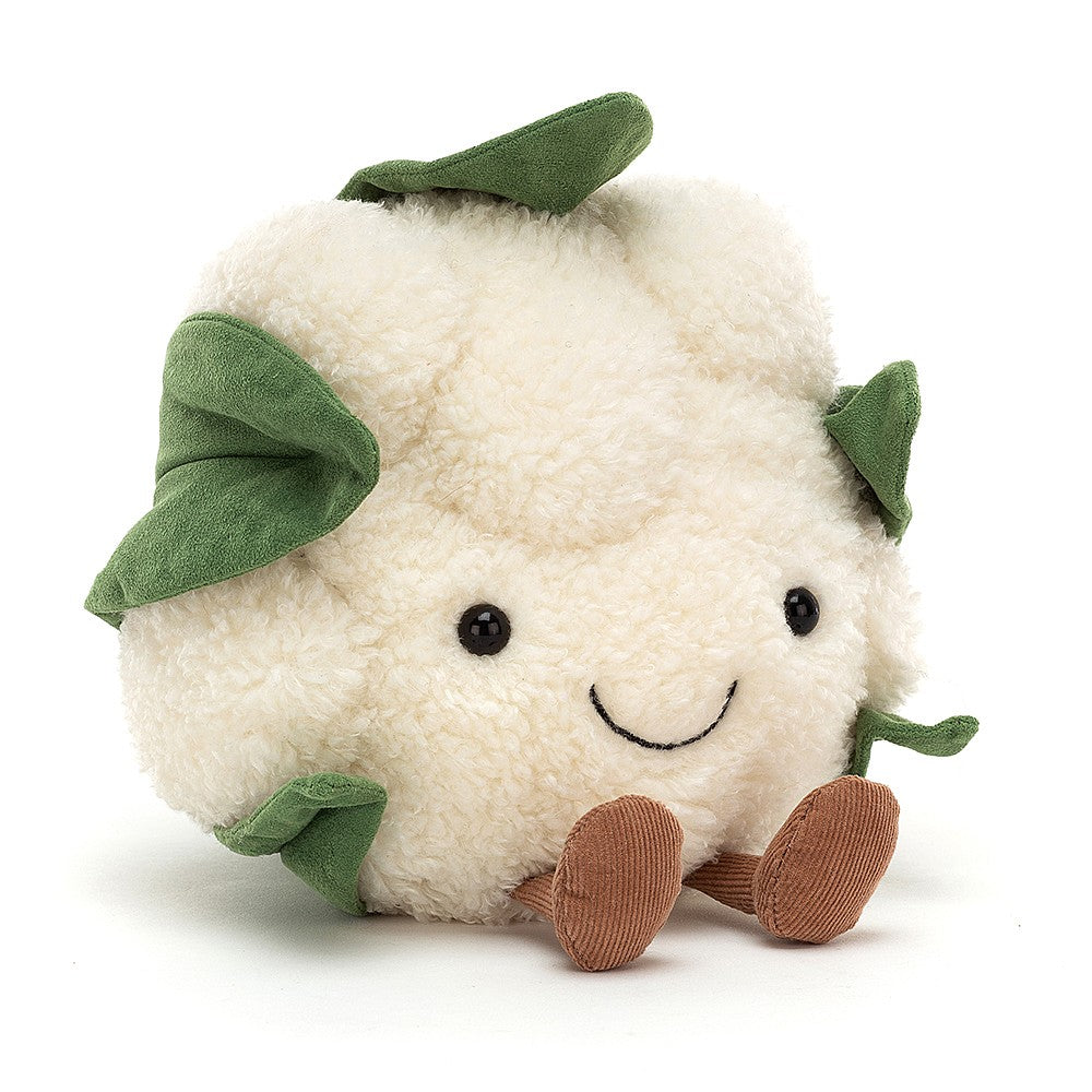 Jellycat Amusable Cauliflower available from Indie Edinburgh