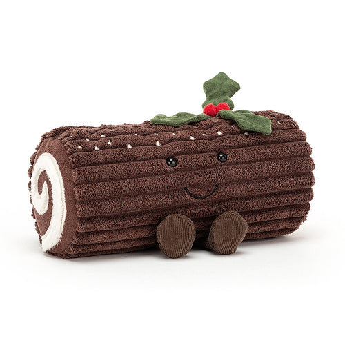 Jellycat Amusable Yule Log available from Indie Edinburgh