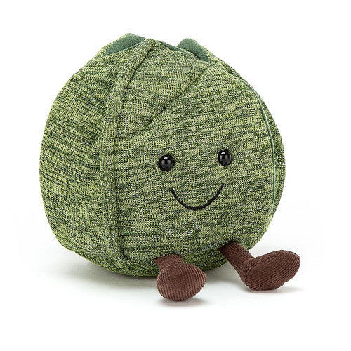 Jellycat Amusable Brussel Sprout available from Indie Edinburgh