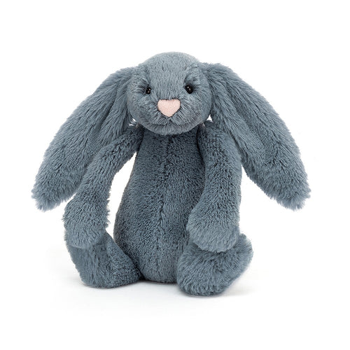 Jellycat Bashful Bunny Dusky Blue available from Indie Edinburgh