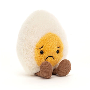 Jellycat Sorry Boiled Egg available from Indie Edinburgh