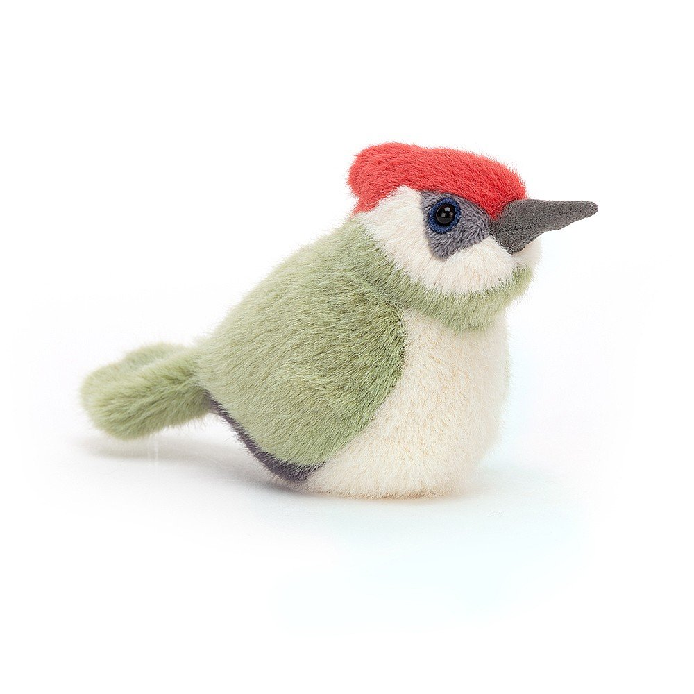 Jellycat Birdling Woodpecker available from Indie Edinburgh