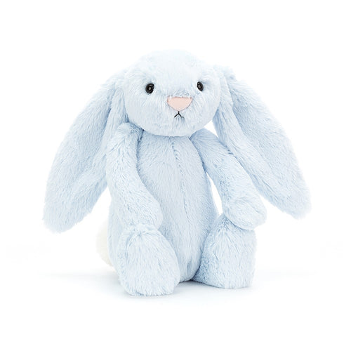 Jellycat Bashful Bunny Blue available from Indie Edinburgh