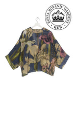 Load image into Gallery viewer, One Hundred Stars Kew Iris Blue Kimono from Indie Edinburgh
