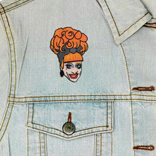 Load image into Gallery viewer, Bianca Del Rio Iron On Patch available from Indie Edinburgh