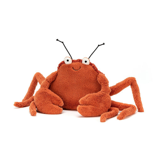 Jellycat Crispin Crab available from Indie Edinburgh