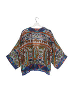 Load image into Gallery viewer, One Hundred Stars Decadent Blue Kimono from Indie Edinburgh
