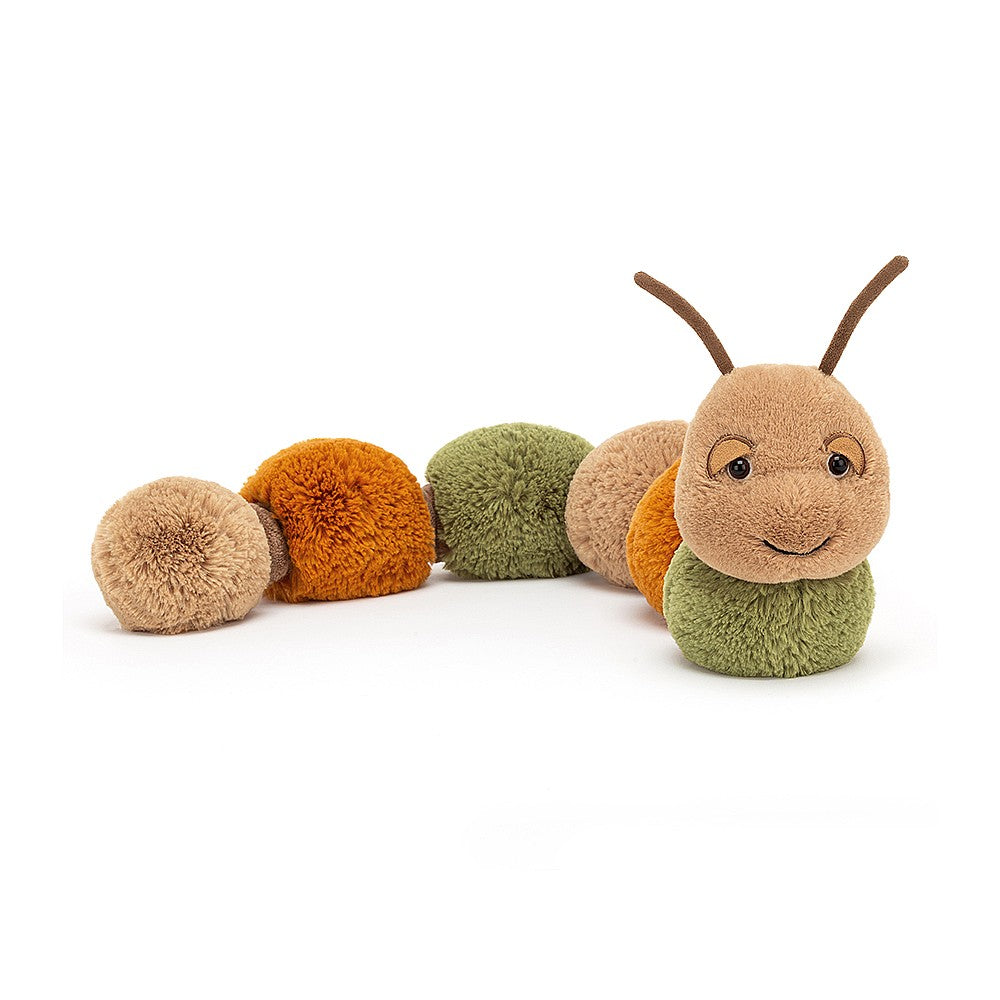 Jellycat Figgy Caterpillar available from Indie Edinburgh