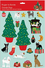 Load image into Gallery viewer, Roger La Borde Fireside Dog Advent Pop & Slot from Indie Edinburgh