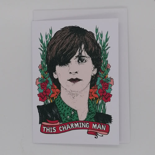 LOST PLOTS JOHNNY MARR GREETING CARD