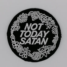 Load image into Gallery viewer, Luna Mcr Not Today Satan Iron On Patch available from Indie Edinburgh