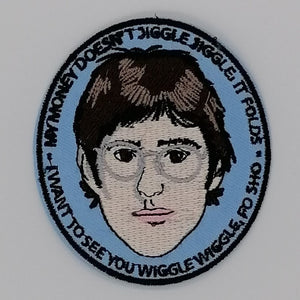 Luna Mcr Louis Theroux Iron On Patch available from Indie Edinburgh
