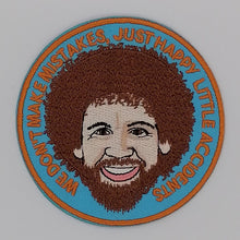 Load image into Gallery viewer, Bob Ross Iron On Patch available from Indie Edinburgh