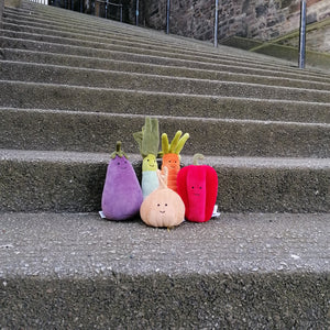 Jellycat Vivacious Vegetable Carrot available from Indie Edinburgh