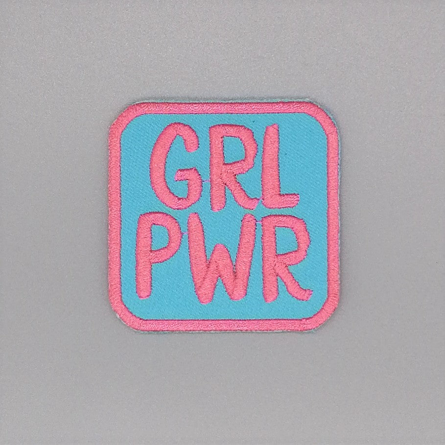 Luna Mcr Grl Pwr Iron On Patch available from Indie Edinburgh