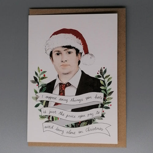 Lost Plots David Mitchell Christmas Card from  Indie Edinburgh