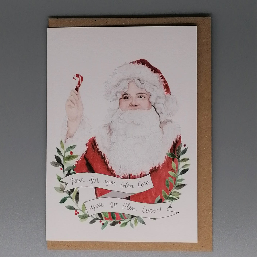 Oh Gosh Cindy! Mean Girls Damien Christmas Card from  Indie Edinburgh