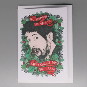 Lost Plots The Pogues Christmas Card from Indie Edinburgh