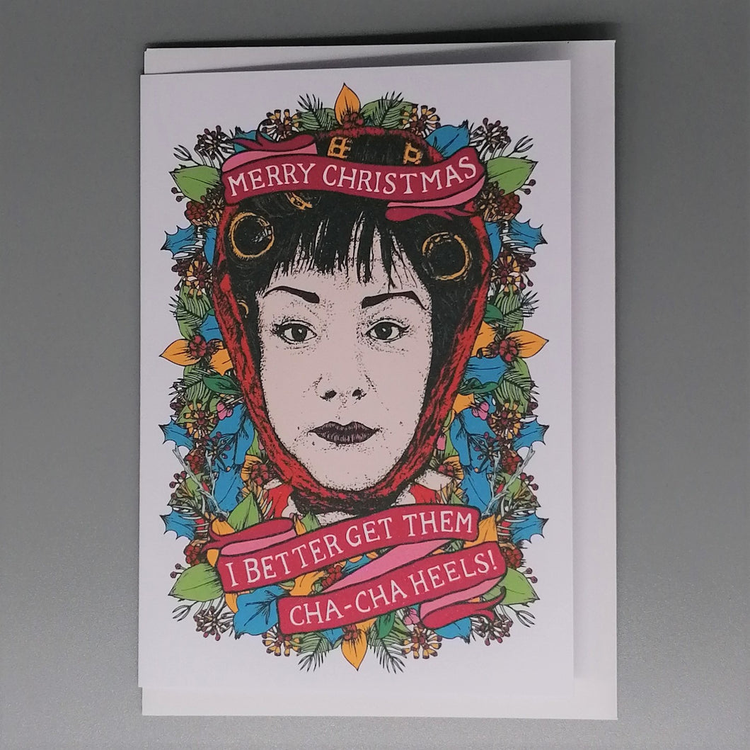 Lost Plots Dawn Davenport Christmas Card from Indie Edinburgh