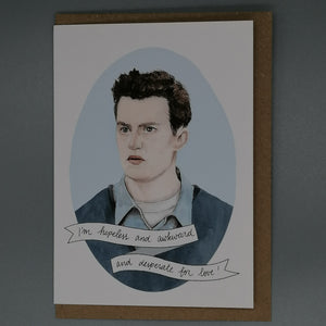 Oh Gosh Cindy! Friends Chandler Bing Card from Indie Edinburgh