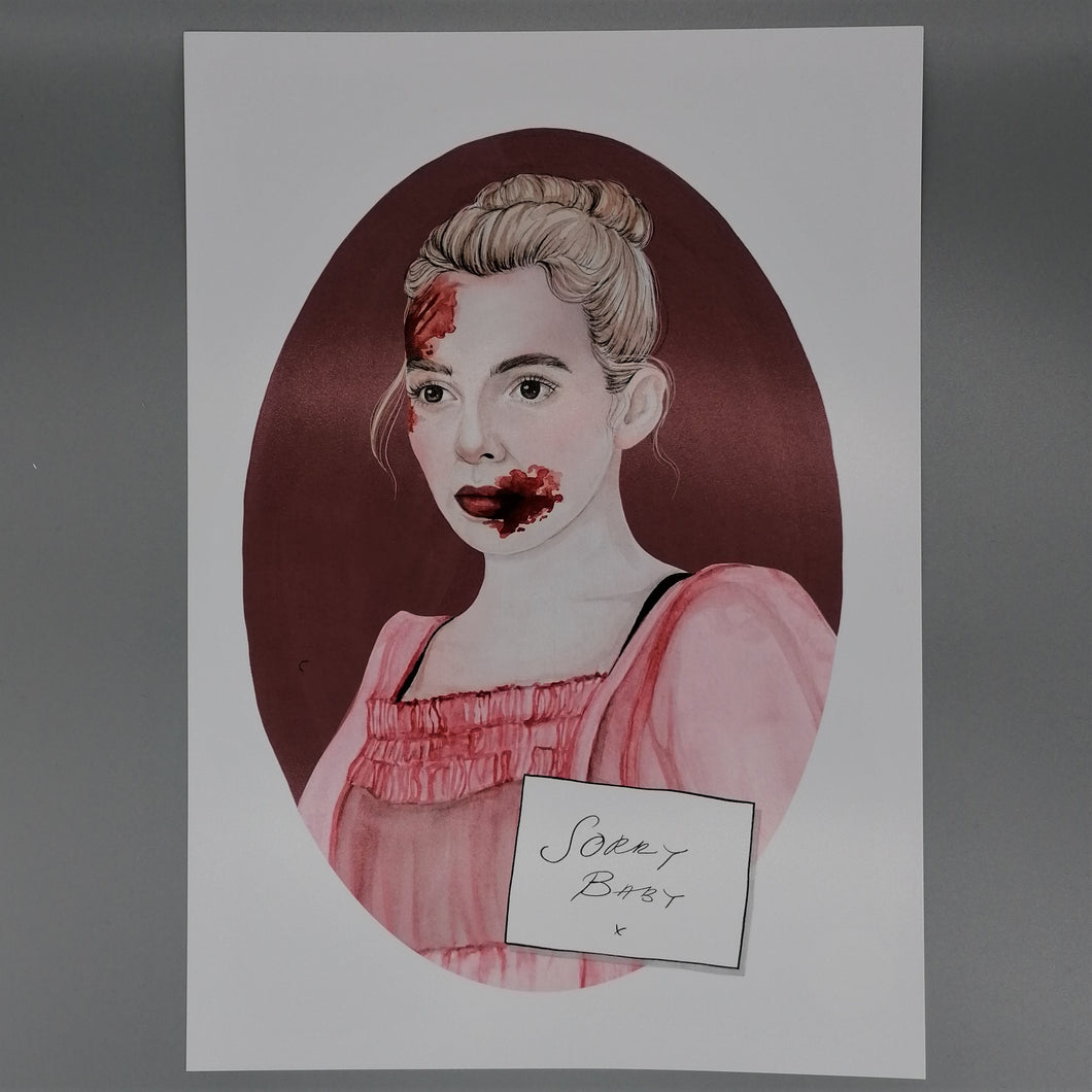 Oh Gosh Cindy! Killing Eve Villanelle Print from Indie Edinburgh
