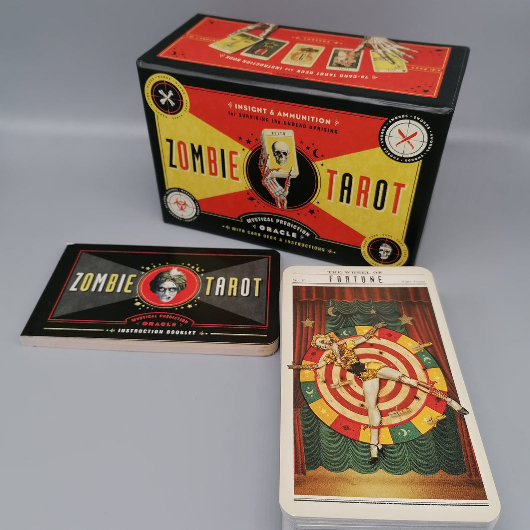 The Zombie Tarot Set available to buy from Indie Edinburgh