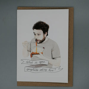 Oh Gosh Cindy! Charlie Kelly Greeting Card from Indie Edinburgh